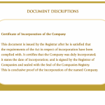 Certificate of Incorporation of the Company