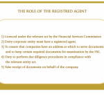 The role of the registered agent